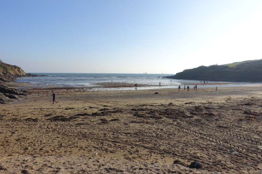 Maenporth in January