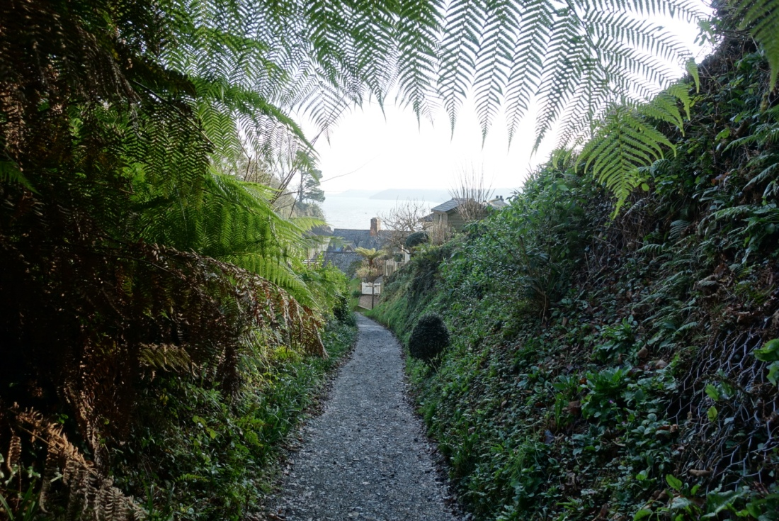 Path down to Durgan